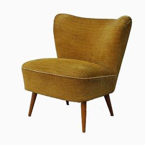 Velvet Cocktail Chair, 1960s