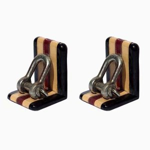 Bookends, 1950s, Set of 2