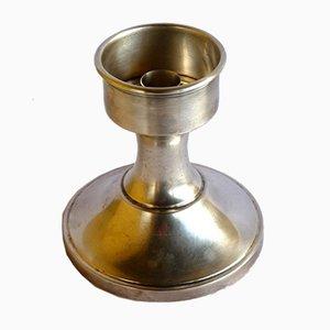 Portacandela placcato in argento di Christofle, anni '50