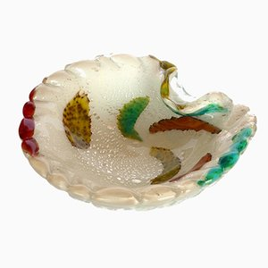 Mid-Century Ashtray in Murrine Glass