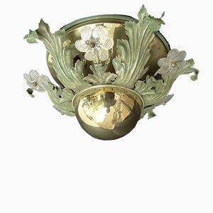 Lámpara italiana de techo o pared de Banci, años 80