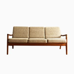Mid-Century Modern Teak Senator Sofa by Ole Wanscher for France & Son