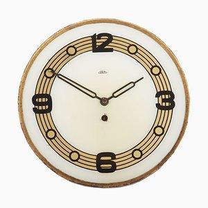 Reloj de pared Mid-Century de PRIM, años 50