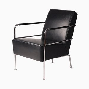 Leather Lounge Chair by Gunilla Allard for Lammhults, 1994