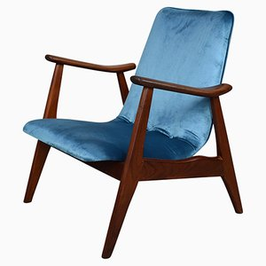 Lounge Chair by Louis Van Teeffelen for Walraven en Bevers, 1960s