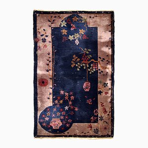 Tapis Vintage Fait Main, Chine, 1920s