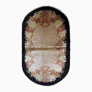 Alfombra china vintage tejida a mano, años 20