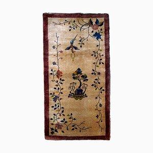 Vintage Handmade Chinese Rug, 1920s