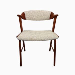 Chaise d'Appoint Vintage Danish en Teck, 1960s