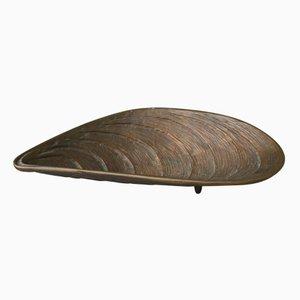 Bol en Forme de Moule en Bronze, 1960s