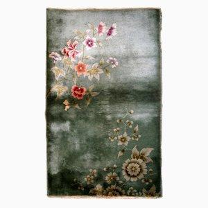 Tapis Antique Art Déco Fait Main, Chine, 1920s