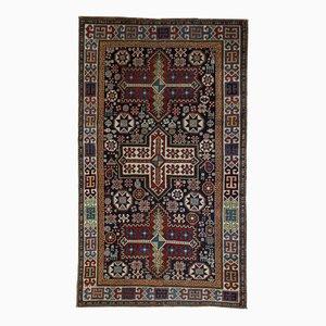 Antiker handgeknüpfter kaukasischer Akstafa Teppich, 1890er