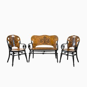 Mobilier de Salon Tresillo Antique
