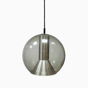 Lámpara colgante Globe holandesa grande de Frank Ligtelijn para Raak , años 60