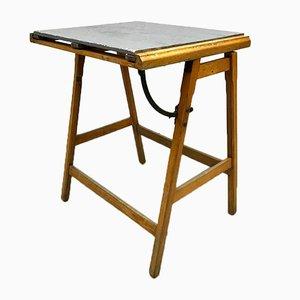 Tavolo industriale vintage da disegno