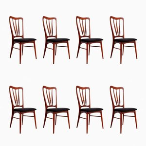 Ingrid Dining Chairs from Koefoeds Hornslet, 1950s, Set of 8