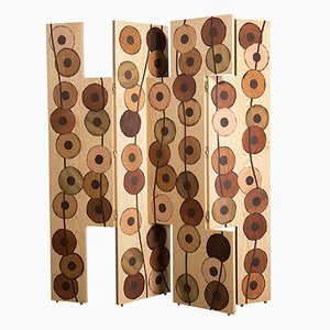 Biombo Ko-oK de madera de Francesca Mondini para Framondi, 2017