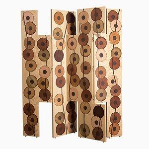 Paravento Ko-oK in legno di Francesca Mondini per Framondi, 2017