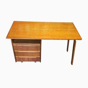 EE02 Desk in Oak by Cees Braakman for Pastoe Utrecht, 1950s