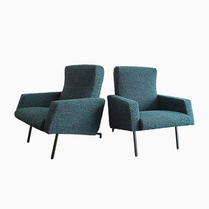 Miami Lounge Chairs by Pierre Guariche for Meurop, 1958, Set of 2