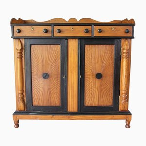 Antique Satinwood Side Cabinet