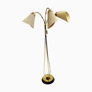 3-Light Floor Lamp, 1960s