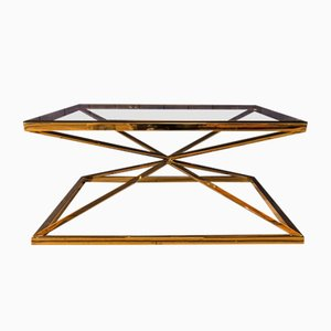 Table Basse Vintage en Laiton