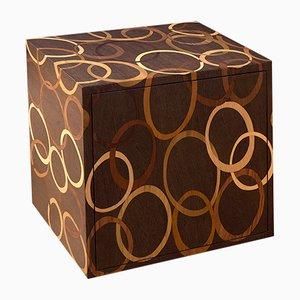 Comodino Cubo in legno di Francesca Mondini per Framondi, 2017