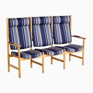 Drei-Sitzer Sofa von Kurt Østervig für Slagelse Møbelfabrik, 1970er