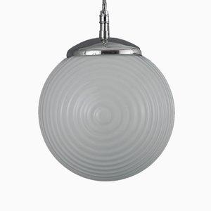 Lámpara colgante V3 checa industrial, años 60