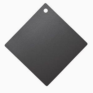 Gray Ceramic Rhomboidal Chopping Board by Tiziana Vittoni Pairazzi for Paira