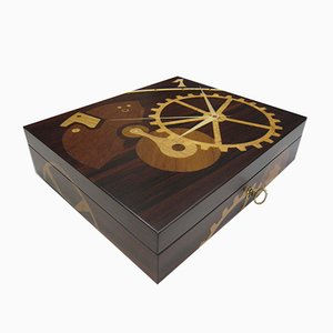 Caja para relojes de madera de Francesca Mondini para Framondi, 2017