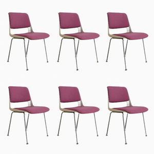 Dutch Model Stratus Dining Chairs by André Cordemeyer for Gispen, 1969, Set of 6