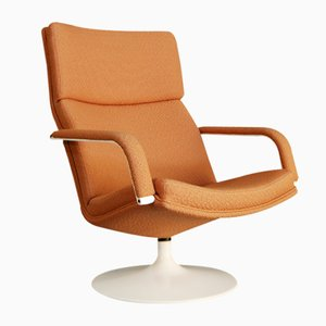 Dutch Model F194 Swivel Chair by Geoffrey Harcourt for Artifort, 1980s