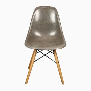 Vintage Elephant Grey DSW Chair by Charles & Ray Eames for Herman Miller