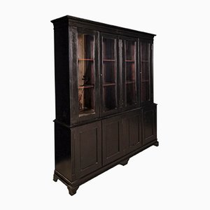 Antique Ebonised Rosewood Cabinet
