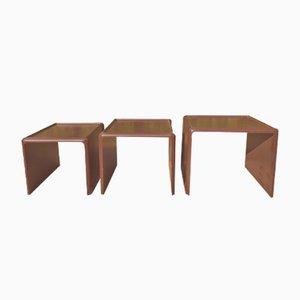 Mesas nido de Peter Ghyczy para Horn Collection, años 70