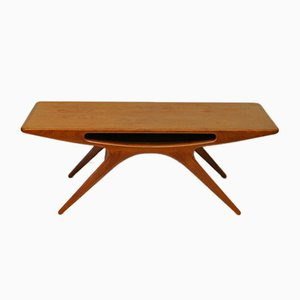 Smilet Coffee Table by Johannes Andersen for CFC Silkeborg, 1957