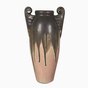 Jarrón modernista de cerámica de Gilbert Méténier