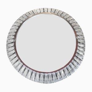 Specchio con luce di Bakalowits & Söhne, anni '60