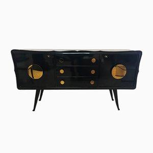 Italienisches verspiegeltes Mid-Century Sideboard, 1950er