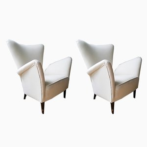 Vintage Armchairs, 1954, Set of 2