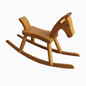 Danish Rocking Horse by Kay Bojesen, 1960s