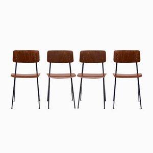 Industrial Dining Chairs by Ynske Kooistra for Marko, 1960s, Set of 4
