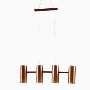 Lampe à Suspension Mid-Century par Jo Hammerborg pour Fog & Mørup