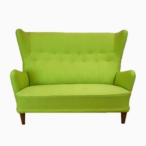 Dänisches 2-Sitzer Sofa, 1950er