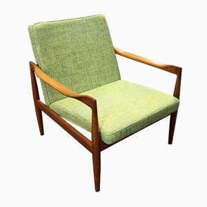 Vintage Modell 4300 Armlehnstuhl von Kai Kristiansen für Fritz Hansen