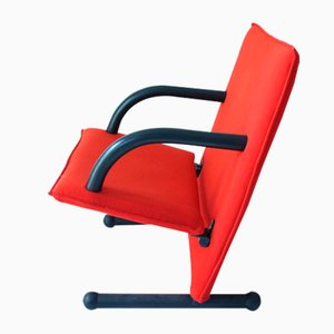 T-line Armchair by Burkhard Vogtherr for Arflex, 1984