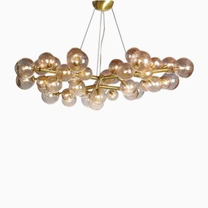 Lámpara de araña Mimosa con 42 luces de Mika Rose de Alberto Dona