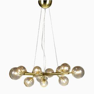 Lámpara de araña Mimosa con 12 luces de Alberto Dona